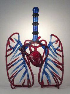 Not that I condone drug use, lets just call it a great piece of anatomy glass blowing ;)