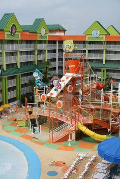 Nickelodeon Suites Resort - Orlando Florida, via Flickr