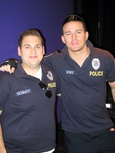 Jonah Hill and Channing Tatum get into 21 Jump Street character