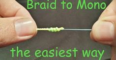 How to tie Fishing Knots?: Surgeon's Knot | How to tie the Surgeon's Knot | Braid to Leader Fishing Knot