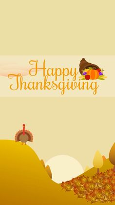 Thanksgiving Iphone Wallpaper, Holiday Wallpaper, Fall Wallpaper, Beautiful Wallpaper, Phone Backgrounds, Happy Thanksgiving, Animation, Wallpapers, Halloween