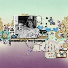 Just A Moment Page Kit by ForeverJoy Designs http://the-lilypad.com/store/FJ-JUST-A-MOMENT-KIT.html Just A Moment Journal Cards by ForeverJoy Designs http://the-lilypad.com/store/FJ-JUST-A-MOMENT-JC.html Fonts are Stamp, Sunn, Always In My Heart  Watch me scrap this layout: https://youtu.be/LpTZSJ8FVIA
