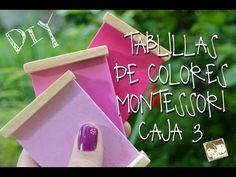 COMO HACER LAS TABLILLAS DE COLORES MONTESSORI. Escuela en casa, Homeschooling