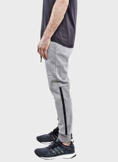 Bonded Sweatpant (Gray) | ISAORA