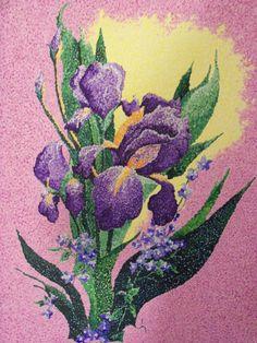Purple Pointalism Art Journal Challenge, Stippling Art, Ap Studio Art, Paintings I Love, Marker Art, Aboriginal Art, Abstract Flowers, Dot Painting, Art Techniques
