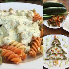 Pasta mit Zucchini-Frischkäse-Soße Rezept zum Selbermachen - Familienrezepte zum Selberkochen und Backen.