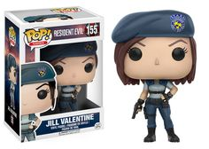 Funko Jill Valentine pop vinyl from the game series Resident Evil Brought to you by Pop In A Box, the site Funko Pop! Vinyl shop