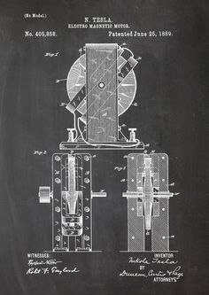 http://de.dawanda.com/product/79940223-Tesla-Motor-Elektro-Patent-Poster-Magnetmotor