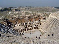 Amphitheatre. Hierapolis