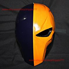 Deathstroke Arkham, Deathstroke Mask, Deathstroke Costume, Deathstroke Cosplay, Halloween Costume, Halloween Cosplay, Halloween Mask MA161