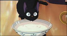 Jiji - Kiki's Delivery Service | 20 Most Adorable Supporting Hayao Miyazaki Creatures