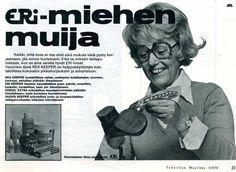 Löyty 70 luvun puolivälin tekniikan maailmoja. Skannasin joitain mainoksia talteen, pääosin valokuvaukseen liittyvää matskua. Poikkeuksena ... Old Advertisements, Advertising, Prince Caspian, Teenage Years, Black And White Pictures, Old Toys, Vintage Ads, Some Fun, Finland