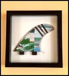 Surf Fin Cover Art Collage by melusinecrafts on Etsy, $15.00