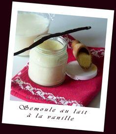 Semoule au lait à la vanille (2)