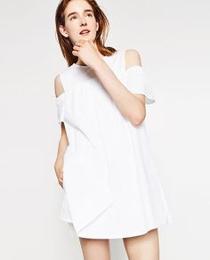POPLIN DRESS-NEW IN-WOMAN-COLLECTION AW16 | ZARA United States