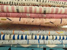 1950s Lucienne Day dress fabric