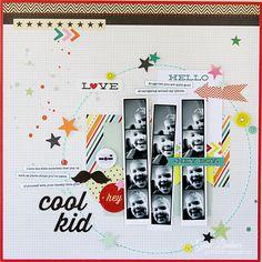 Cool Kid *Pink Paislee* - Scrapbook.com