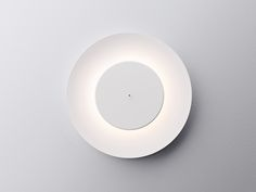 lunaire eclipse wall lamp by ferreol babin for fontana arte