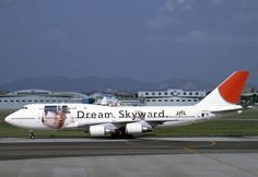 JA8907 JAL Japan Airlines Matsui Jet Boeing 747-446D