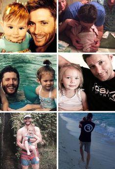 daughter, Jensen Ackles, and jj image
