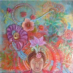 """Blooming Meditation"", by Robin Urton (linked within an article on my career by Art Business Institute)"