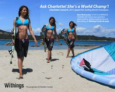Withings is a proud sponsor of Charlotte Consorti, 2012 Speed Kite Surfing World Champion.  Learn more about the Withings devices she uses to keep trim: http://www.withings.com/en love made in www.adoscool.com