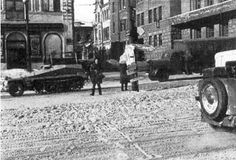 Kharkov's streets busy with the activities of the German army - This Day in WWII History: Mar 14, 1943: Germans recapture Kharkov