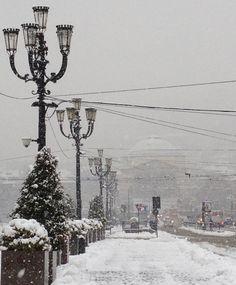 2012. Nevicata a gennaio.