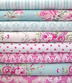 Pretty shabby chic fabrics