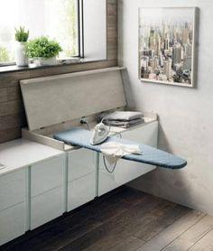 bathroom interior design for house Laundry Room Layouts, Laundry Room Storage, Laundry In Bathroom, Bathroom Closet, Bathroom Cabinets, Laundry Rooms, Space Saving Furniture, Home Decor Furniture, Furniture Design