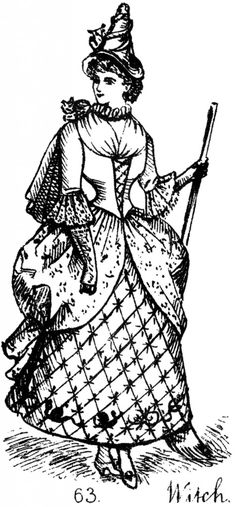 Witch Costume Image - The Graphics Fairy