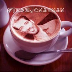 #TeamJonathan...coming soon to a coffee shop near you =)