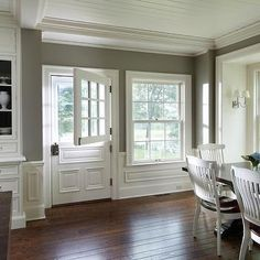 Kitchen Dutch Door, Transitional, dining room, Yunker Associates