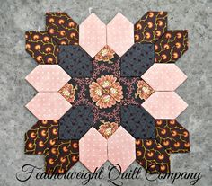 Patchwork of the Crosses  Block kit  49 by FeatherweightQuiltCo