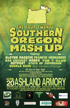 Ashland, OR Come enjoy a memorable night of music. This is a night to celebrate and recognize a family of musicians that started a movement and a culture here in the Southern Oregon music scene. These bands a… Click flyer for more >>