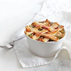 Pastry-Topped Chicken Potpie | CookingLight.com