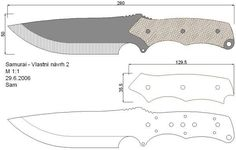 knives and swords Forging Knives, Tactical Knives, Cool Knives, Knives And Swords, Knife Drawing, Knife Template, Knife Making Tools, Diy Knife, Knife Patterns