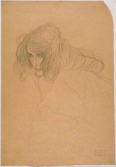 Do we love Gustav Klimt a little too much? An exploration of the cult of Gustav Klimt. Drawing Fist, Life Drawing, Painting & Drawing, Figure Drawing, Gustav Klimt, Klimt Art, Franz Josef I, Vienna Secession, Pics Art