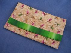 Items similar to SOLD Trifold Fabric Clutch Wallet with Green and Rose Hearts on Etsy Clutch Wallet, Wallets, Sunglasses Case, Trending Outfits, Rose, Unique Jewelry, Handmade Gifts, Green, Fabric