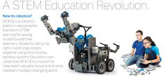 VEX IQ build-your-own robotics system. Pricey but possibly useful in a homeschool setting.