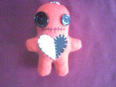 Handmade voodoo doll