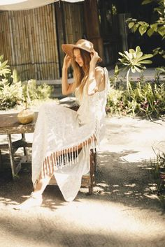 ➳ Shop bohemian dresses on Bohemian Diesel Marketplace ➳ Bohemian Style Dresses, Boho Outfits, Collections Photography, Halter Gown, Wrap Dress Floral, Bell Sleeve Dress, Seychelles, Beautiful Dresses, Boho Fashion