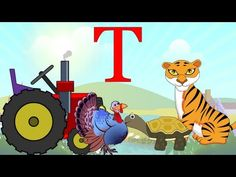 Learn About The Letter T - Preschool Activity - YouTube