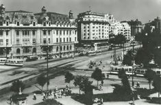 Universitate 1956 Bucharest Romania, Old City, Old Pictures, Time Travel, Louvre, Memories, Country, Dan, Buildings