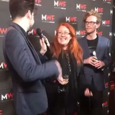 Happy #ShakespeareSaturday! Regrann of Republic team members Sally McLean, Shane Savage and Billy Smedley on the @melbwebfest Black Carpet at last night's opening night at Fed Square. Far. Too. Much. Silliness. And beer ;) #filmmaking #independent #webseries #filmmaker #femaledirector #festival #aussiefilm#shakespearerepublic #lovethebard  @Regrann from @shanesavage -  This is why we don't have nice things. With @incognitagal introducing me as season 2 cast on @shakespearerepublic on the…