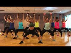 """TOY SOLDIER"" Britney Spears - Dance Fitness Workout with Weights Valeo Club - YouTube"
