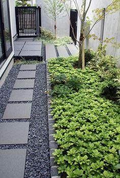 RC打ち放しの門、和モダンのおしゃれなエクステリアは大阪箕面の外構施工例です。