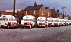 Bedford CA Ice Cream Vans