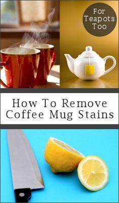 Mug Tea and Coffee Stains