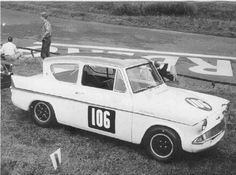 105 Speed - Special Services to Owners of Ford Anglias Classic Cars British, Ford Classic Cars, Automobile, Ford Anglia, Car Racer, Touring, Race Cars, Automotive Art, Memories